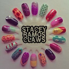 warm spring nail wheel// stacey ramos claws