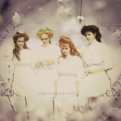A page dedicated to Olga, Tatiana, Maria and Anastasia, daughters of the last Tsar Nicholas II