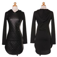 So Chanel Hooded Dress