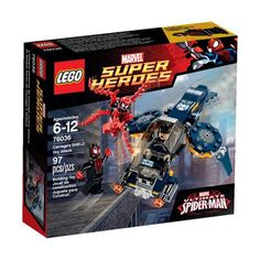 I just ordered this LEGO Super Heroes Carnage Shield Attack with Spiderman. Ultimate Spiderman Carnage, Lego Spiderman, Spiderman Spider, Superhero, Super Marvel, Marvel C, Lego Marvel Super Heroes, Legos, Toys