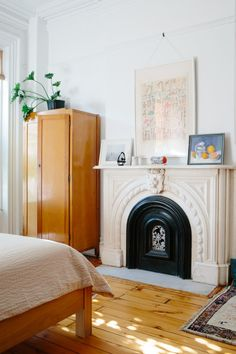 Tour the classic Brooklyn brownstone that the textile designer and book author, along with her husband and their young son, made very much their own.