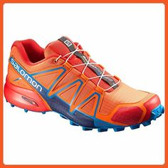 8768933ce437 Salomon Mens Speedcross 4 Trail Running Shoe 11 DM US Scarlet     You can  find more details by visiting the image link. (This is an affiliate link)