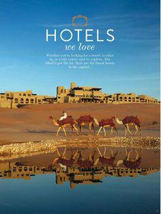 camels at Qasr Al Sarab Desert Resort - Abu Dhabi, United Arab Emirates Abu Dhabi, Places To Travel, Places To See, Travel Destinations, Places Around The World, Around The Worlds, Beautiful World, Beautiful Places, Voyage Dubai