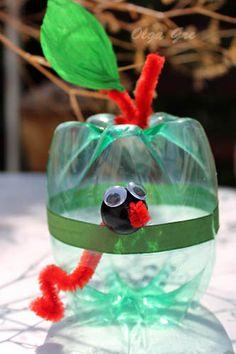 Как Сделать Лису Из Пластиковых Бутылок Инструкция Пошаговая - фото 9