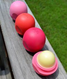 eos lipsticks   Makeup Monday} eos Basket of Fruit Lip Balm