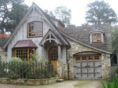 1 This style is a roof that continues down below the main eaves height and allows you to have a greater depth of building without increasing your ridge height. It would go great with a French country home.