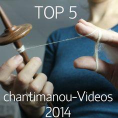 Die beliebtesten chantimanou-Videos 2014: Von Seide spinnen über Kardieren und Reviews ist von allem was dabei.