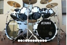 Double Bass Drum Set, Greatest Rock Bands, How To Play Drums, Drum Kits, Drummers, Music Instruments, Pure Products, Cool Stuff, Metallica