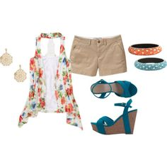 Summer Days, created by nikki-hodgkins on Polyvore