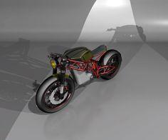 #motorcycledesign #moto #bike #caferacer #catiav5