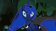 When someone says that Luna shouldn't be on mlp