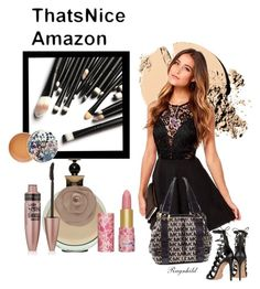 """Thats nice Amazon"" by ragnh-mjos ❤ liked on Polyvore featuring beauty, Maybelline, tarte, Aquazzura, Michael Kors, Paul & Joe, contest, Beauty and makeup"