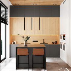 Дизайн Кухонного Шкафа, Современный Дизайн Кухни, Домашний Декор Кухни, Дизайн Интерьера Кухни, Кухонная Мебель, Домашние Кухни, Современные Кухни, Снятие Мерок В Кухне, Серые Кухни