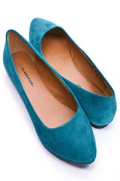 #Turquoise flats  Flat Shoes #new #Flat  #Shoes #nice #fashion  www.2dayslook.com