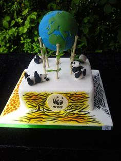 Hi WWF, thanks for letting me use your logo on a cake I made for a competition.  I won second place!  Regards, Trudy.