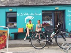 Cian McCormack is preparing himself for blue skies and sweltering heat as he makes his way around Kilkee in West Clare. White Witch, Blue Skies, Festivals, Ireland, Meet, Bike, Bicycle, Bicycles, Irish