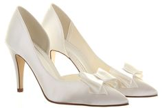 Else by Rainbow Club Fiano Ivory Wedding Shoes