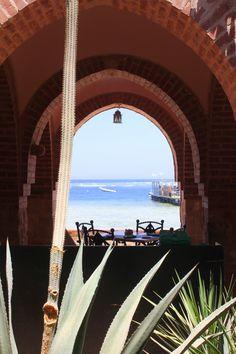 Das Mövenpick Resort in El Quseir, Ägypten, ist ein Paradies auf Erden: tiefblaues Meer, eingebettet in die Wüste, mit eigenem Riff und wunderschönen Bugalows...