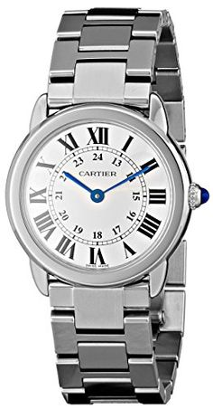 "Cartier Women's W6701004 ""Ronde Solo"" Stainless Steel Watch with Link Bracelet Check https://www.carrywatches.com Cartier Women's W6701004 ""Ronde Solo"" Stainless Steel Watch with Link Bracelet  #cartierquartz #cartierwatchesforwomen"
