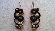 Badi / soutache náušnice Drop Earrings, Jewelry, Fashion, Moda, Jewlery, Jewerly, Fashion Styles, Schmuck, Drop Earring