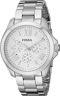 NEW Fossil Womens AM4509 Cecile Multifunction Silver-Tone Stainless Steel Watch | Jewelry & Watches, Watches, Parts & Accessories, Wristwatches | eBay!