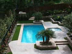 Small Contemporary Pools