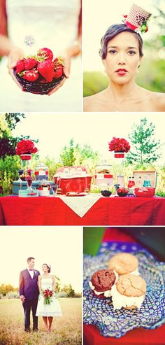 4th of july wedding centerpieces
