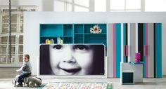 Life box 09. Dormitorio infantil con litera horizontal blink h