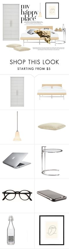 """MyHappyPlace"" by reginakos ❤ liked on Polyvore featuring interior, interiors, interior design, home, home decor, interior decorating, Vitra, Anglepoise, Jayson Home and Pier 1 Imports"