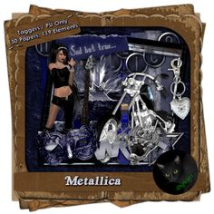 Remember the days of rockin' out to Metallica? Metallica, Lunch Box, Products, Bento Box, Beauty Products