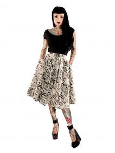 Folter Women's Objects Of Desire Skirt