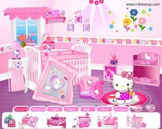 Decorar la Habitación de Hello Kitty