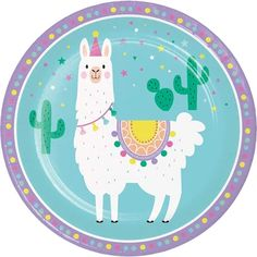 No Llama drama here….just some super cute Llama lunch plates! Mix and match these Llama plates to any of our Llama party supplies. Llama Birthday, Birthday Box, Happy Birthday, Birthday Parties, Themed Parties, Birthday Stuff, Pony Party, Alpacas, Llama Print