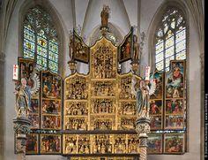 Festagsseite Antwerpener Retabel in der St.Victor Kirche Schwerte.