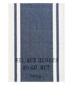 French-style tea towels