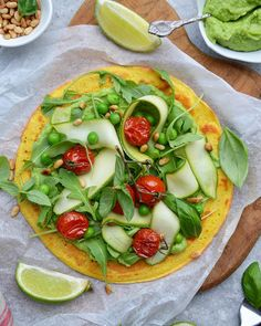 you can use chickpea flour as an egg replacer, which makes it a great ingredient for #plantbased diet 😌Just combine 1/4 cup of flour with 1/4 cup of water and there you have it 😋  This chickpea #wrap (or crepe is just made with chickpea flour, a teaspoon of ground flaxseed and seasoning. Top it with some smashed #avocado & extra veggies @fit.foodie.nutter