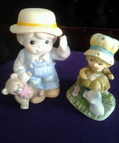 Vintage Homco figurines