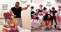 Yehuda Adi Devir est un illustrateur basé à Tel-Aviv, en Israël, qui crée des bandes dessinées à mourir de rire sur la vie quotidienne avec les femmes.Alors, sur les 20 BD, vous vous reconnaissez dans combien ?