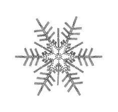 Crochet snowflake - Her Crochet Crochet Snowflake Pattern, Crochet Stars, Christmas Crochet Patterns, Crochet Snowflakes, Christmas Snowflakes, Thread Crochet, Christmas Cross, Crochet Dolls, Christmas Ornaments