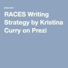 Race writing strategy prezi