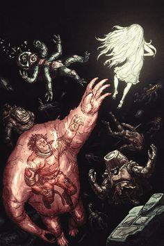 Prophet #25 by Simon Roy & Jason Wordie // #comics #Image
