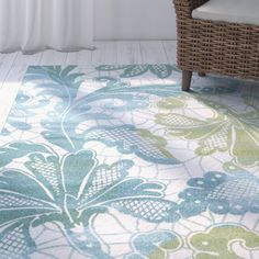 You'll love the Wallon Ocean Area Rug at Birch Lane - With Great Deals on all Rugs & Windows products and Free Shipping on most stuff, even the big stuff.