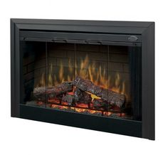 """Dimplex - Home Page » Fireplaces » Fireboxes » Products » 45"""" Deluxe Built-in Electric Firebox"""