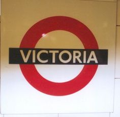 Victoria Tube Station. #London #Victoria #Station #Shopping #LondonVictoria