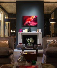 Christina Fallah Des Christina Fallah Design create imaginative and innovative interior design by mixing classicism with modernism. Cool Things To Make, Service Design, Interior Inspiration, Innovation, New Homes, Home And Garden, Loft, Living Room, Interior Design