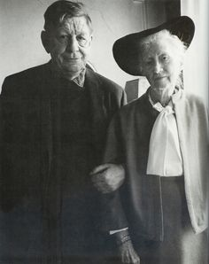 """W.H. Auden and Marianne Moore 