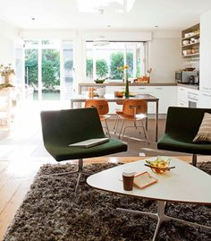#birch+little love this fabulous fit out in the open plan kitchen #quirky