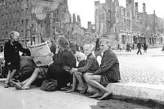April 1946 Fluechtlinge in Berlin