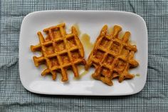 Wheat Free and Healthy: Gluten-Free Pumpkin Waffles