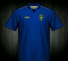 Sweden away shirt for the 2004 European Championship. d447d1e67e608